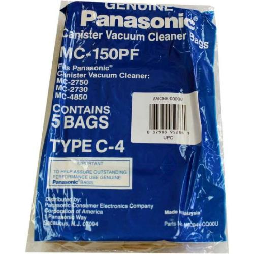 MC-150PF Vacuum Bag, Type C-4