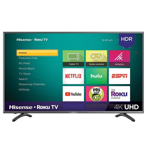 50R7E 50-Inch R7e 4K Uhd Roku Tv With Hdr(2018) Hu50n3030uwr(1011)