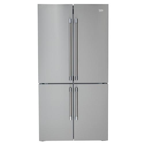7293749588 36 Inch French 4-Door Freestanding Refrigerator Bffd3626ss