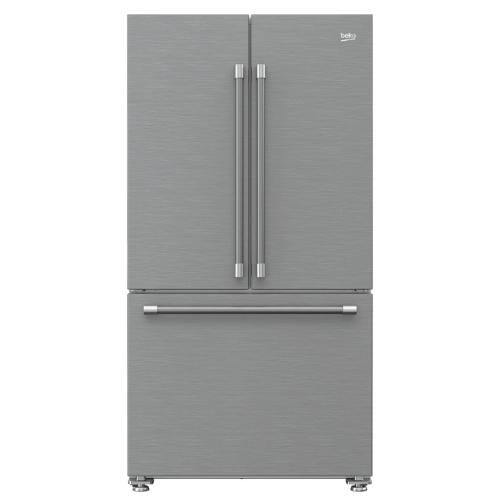 7293749592 36 Inch Counter Depth French Door Refrigerator Bffd3624ss