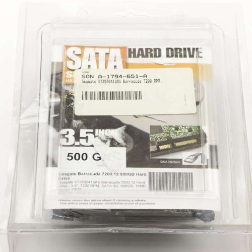 A-1773-047-A Hdd Western Digital [500Gb/3.5/7200/sata