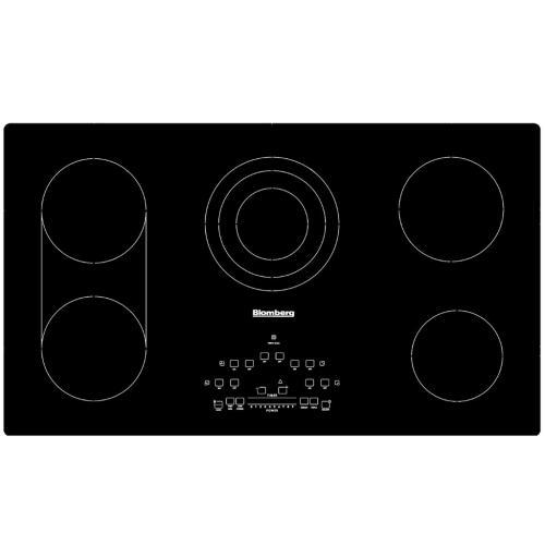 8978943800 Blomberg Cte 36500 Built-in Electric Cooktop