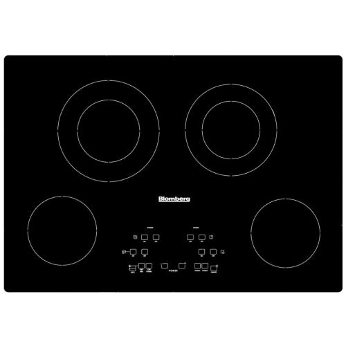 8978953800 Blomberg Cte 30400 30-Inch Built-in Electric Cooktop