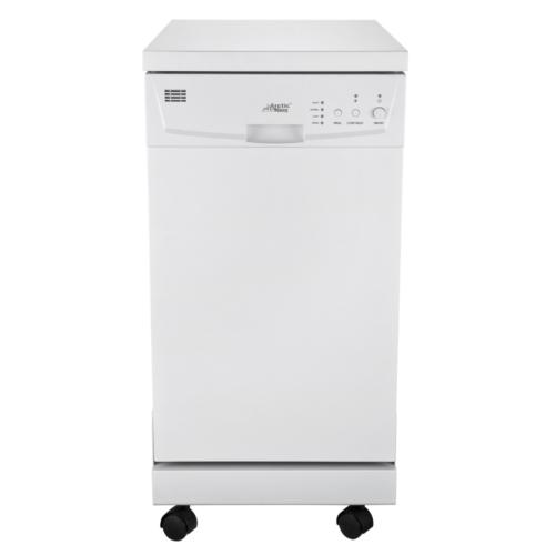 "A18DP9239WW 18"" Portable Dishwasher White"