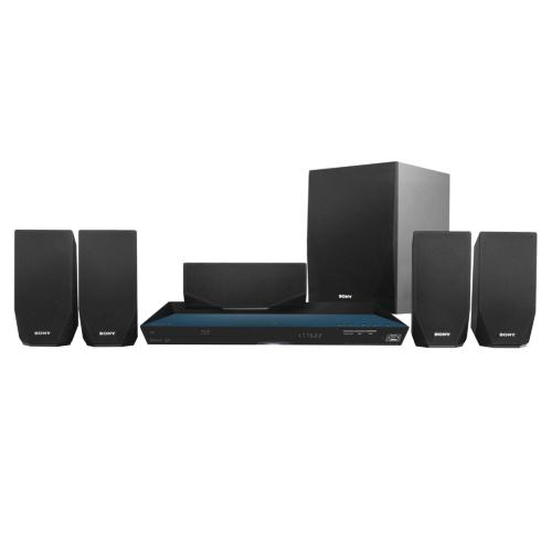 BDVE2100 Blu-ray Disc Home Theater System With Wi-fi