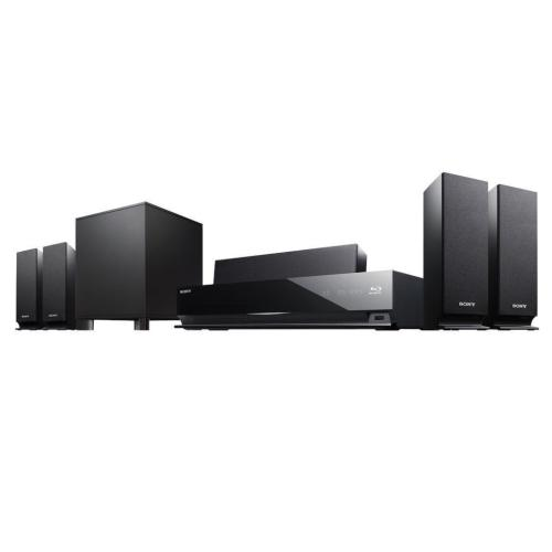 BDVE370 Blu-ray Disc Player Home Theater System