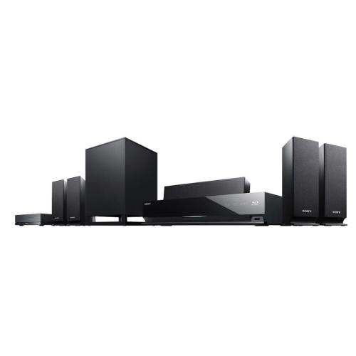 BDVE770W Blu-ray Disc Player Home Theater System