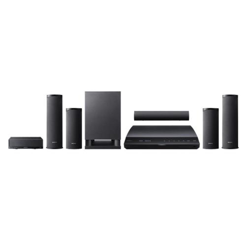 BDVE780W Blu-ray Disc Player Home Theater System