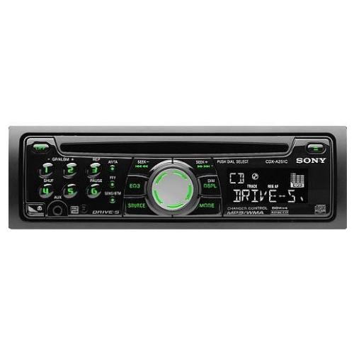CDXA251C Fm/am Compact Disc Player