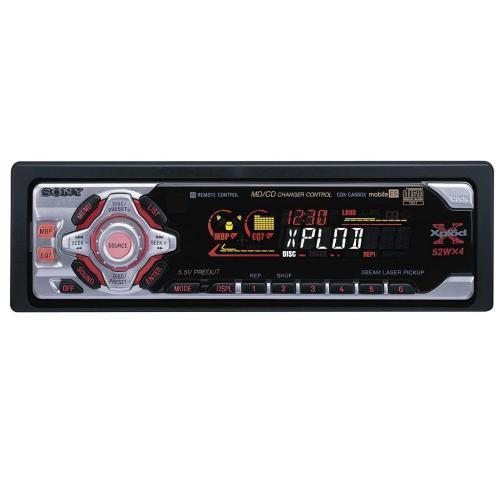 CDXCA660X Fm/am Compact Disc Player