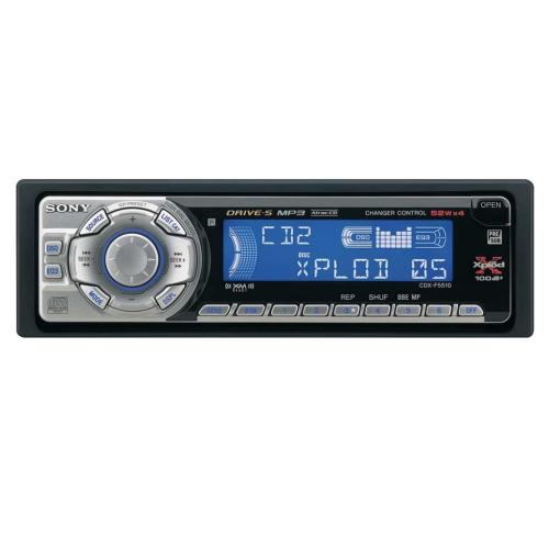 CDXF5510 Fm/am Compact Disc Player