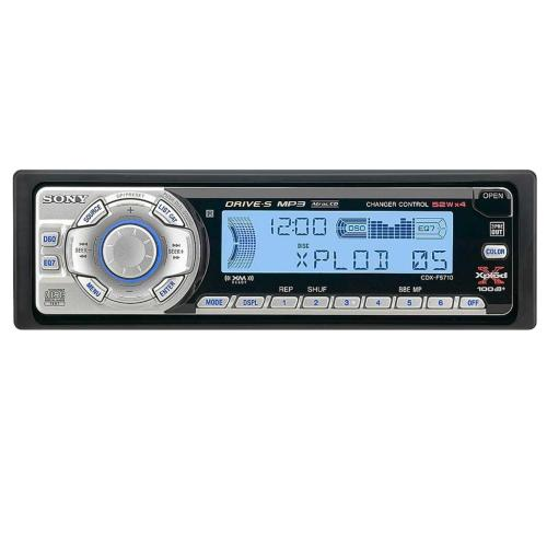 CDXF5710 Fm/am Compact Disc Player