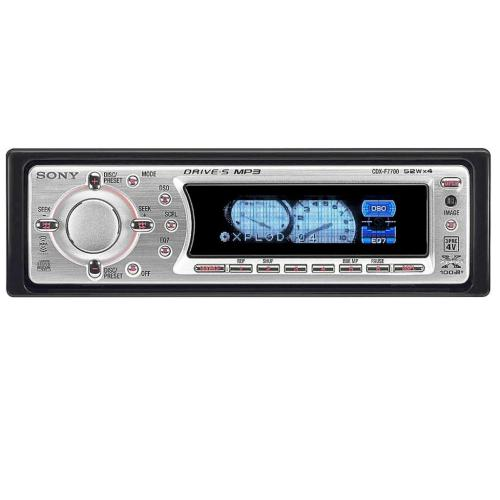CDXF7700 Fm/am Compact Disc Player