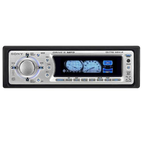 CDXF7705X Fm/am Compact Disc Player