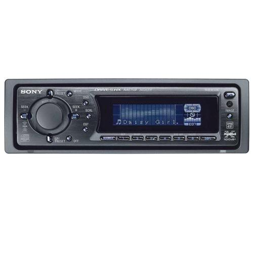 CDXF7715X Fm/am Compact Disc Player