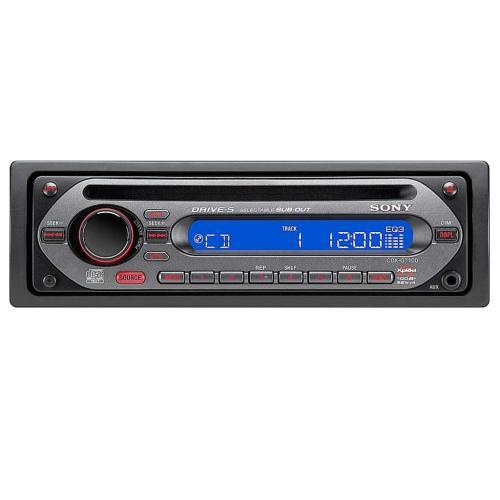CDXGT100 Fm/am Compact Disc Player