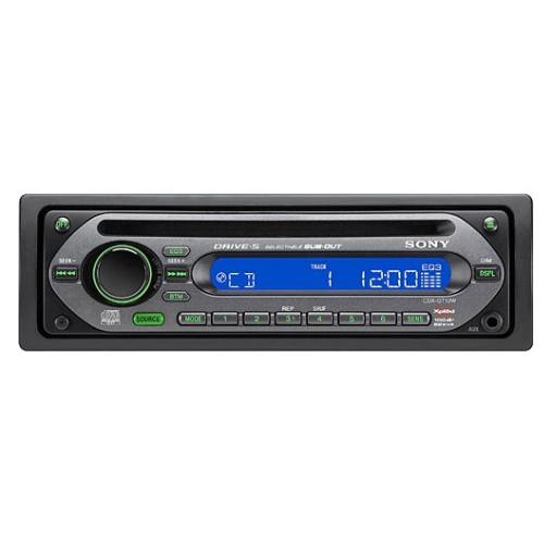 CDXGT10W Fm/am Compact Disc Player