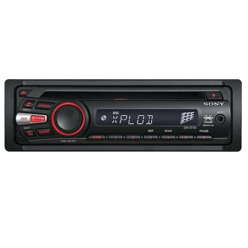CDXGT130 Fm/am Compact Disc Player