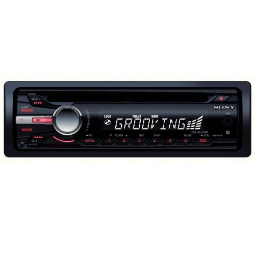 CDXGT260MP Fm/am Compact Disc Player