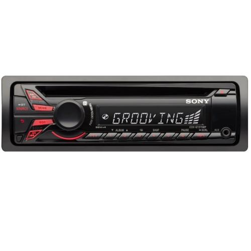 CDXGT270MP Fm/am Compact Disc Player