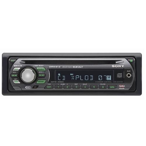 CDXGT31W Fm/am Compact Disc Player