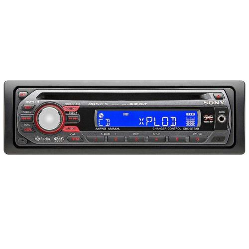 CDXGT320 Fm/am Compact Disc Player.