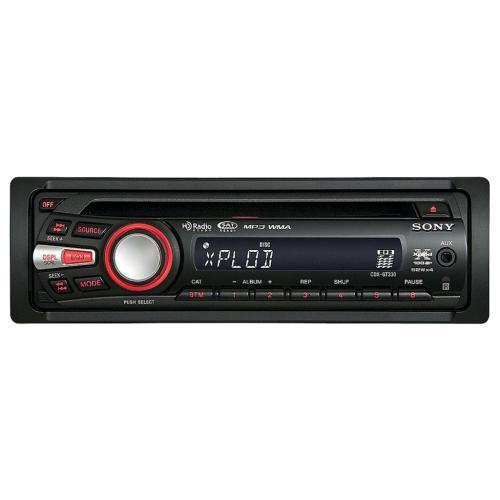 CDXGT330 Fm/am Compact Disc Player.