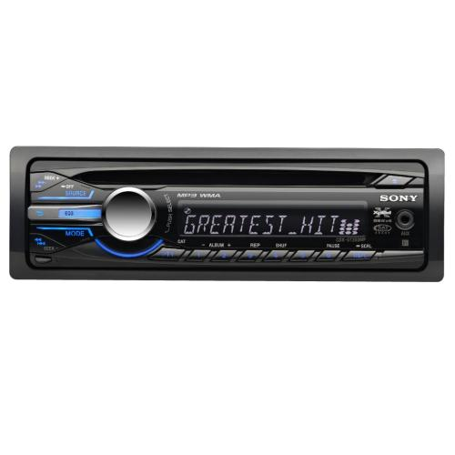 CDXGT350MP Fm/am Compact Disc Player
