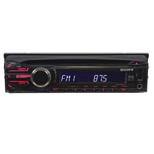 CDXGT40UW Fm/am Compact Disc Player