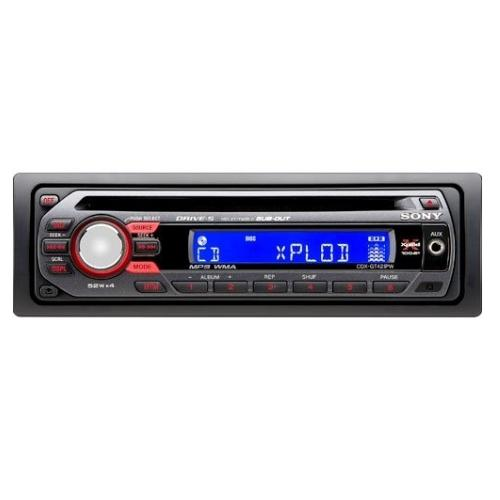 CDXGT42IPW Fm/am Compact Disc Player.