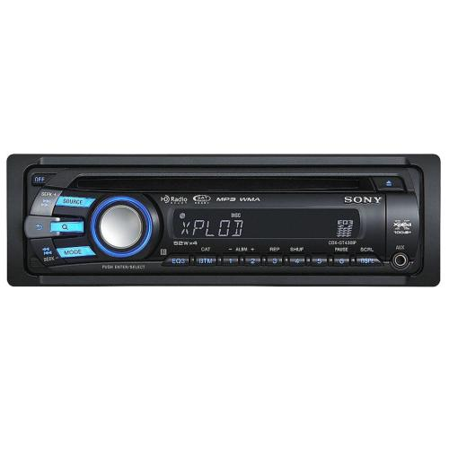 CDXGT430IP Fm/am Compact Disc Player.