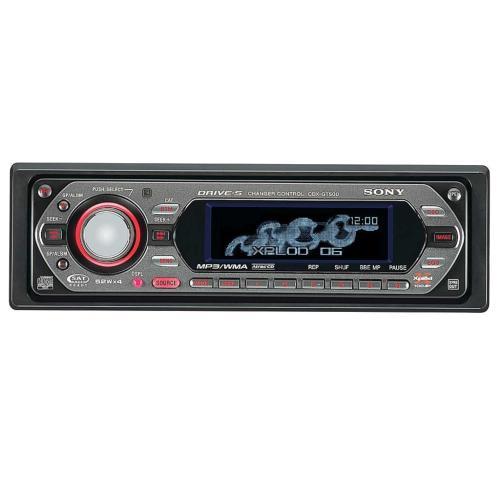 CDXGT500 Fm/am Compact Disc Player