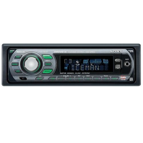 CDXGT510 Fm-am Compact Disc Player