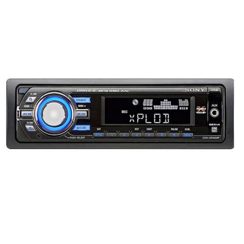 CDXGT620IP Fm/am Compact Disc Player.