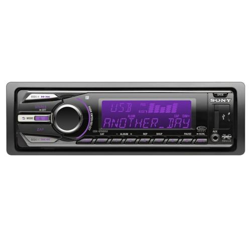 CDXGT650UI Fm/am Compact Disc Player