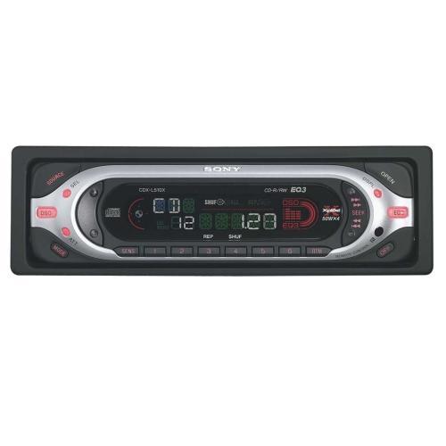 CDXL510X Fm/am Compact Disc Player