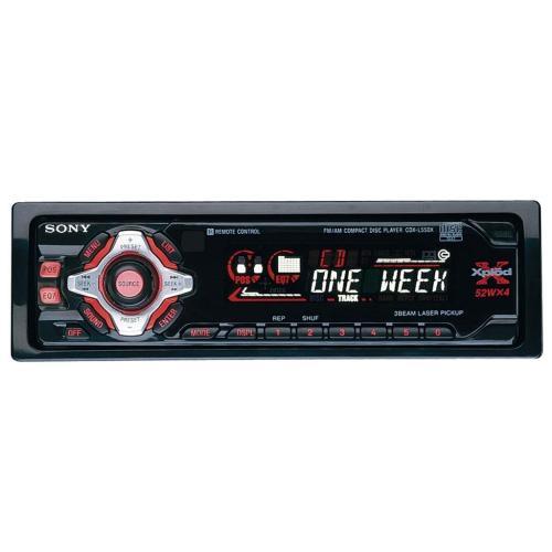 CDXL550X Fm/am Compact Disc Player