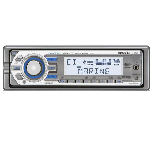 CDXM50IP Fm/am Compact Disc Player