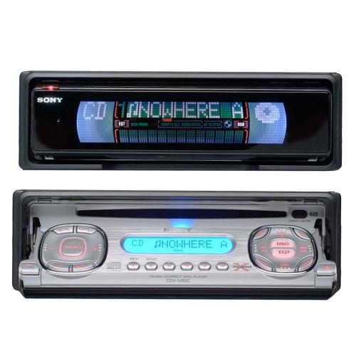 CDXM620 Fm/am Compact Disc Player