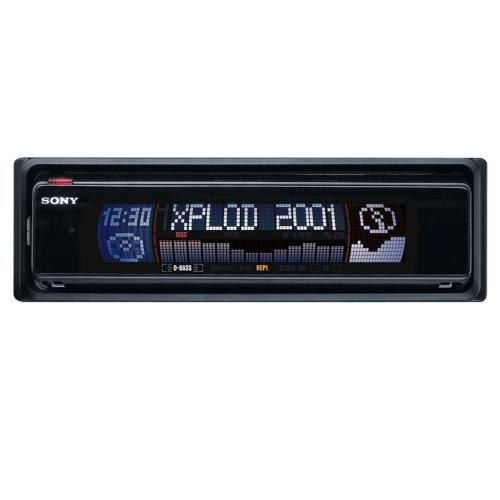 CDXM770 Fm/am Compact Disc Player