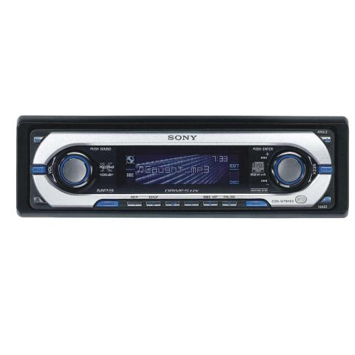 CDXM7815X Fm/am Compact Disc Player