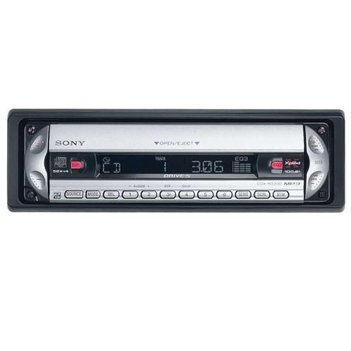 CDXR3300 Fm/am Compact Disc Player