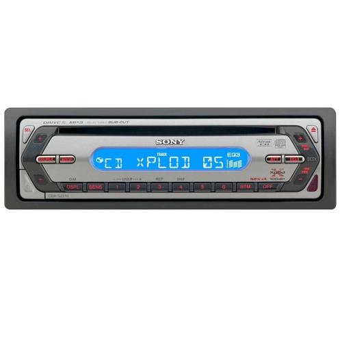 CDXS2210 Fm/am Compact Disc Player