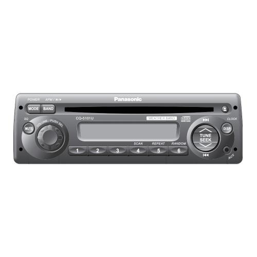 CQ5101U Auto Radio/cd Deck