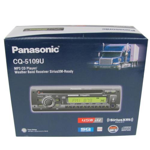 CQ5109U Auto Radio/cd Deck