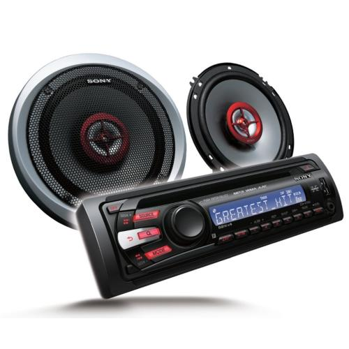 CXSGT3516F Fm/am Compact Disc Player, With Speakers