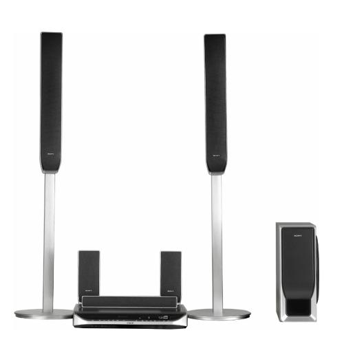 DAVHDX500 5 Disc Cd/dvd Home Theatre System With Floor Standing Speakers