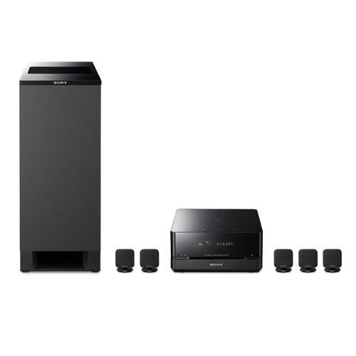 DAVIS10/W 5.1 Micro Satellite Home Theater System (White Speakers)