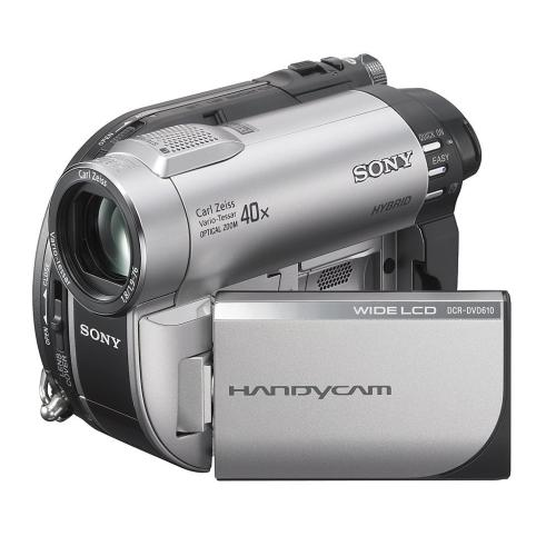 DCRDVD610 Dvd Handycam Camcorder