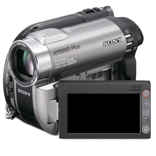DCRDVD850 Hybrid Dvd Camcorder W/ 60X Optical Zoom